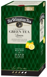 Sir Winston Tea čaj SUPERIOR GREEN TEA LEMON