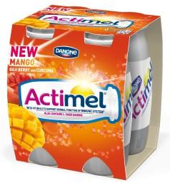 Danone Actimel mango/kurkuma/goji 4x100g,