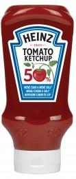 Heinz Kečup 50% méně cukru a soli