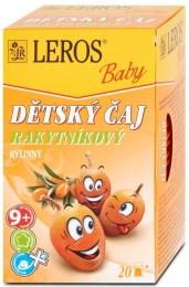 LEROS Baby Dětský čaj Rakytníkový 20x2g,
