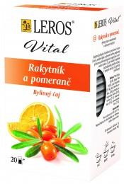 LEROS Vital Rakytník a pomeranč 20x2g,
