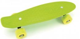 Teddies Skateboard (pennyboard) zelený