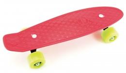 Teddies Skateboard (pennyboard) červený