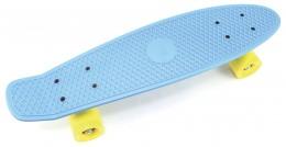 Teddies Skateboard (pennyboard) modrý
