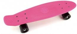 Teddies Skateboard (pennyboard) růžový