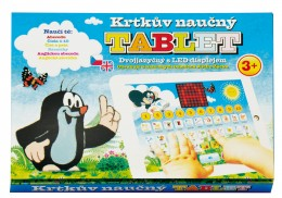 Teddies Krtkův naučný tablet pro nejmenší