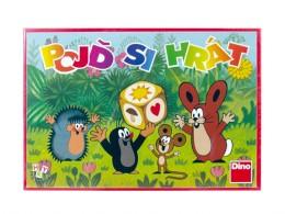 Dino Pojď si hrát Krtek dětská společenská hra