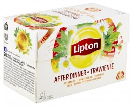 Lipton After Dinner bylinný čaj aromatizovaný