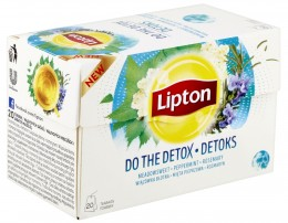 Lipton Do the Detox bylinný čaj aromatizovaný