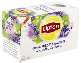 Lipton Calming Melissa & Lavender bylinný čaj