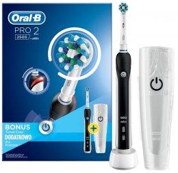 Oral-B PRO 22500 CrossAction bílo-černý elektrický zubní kartáček