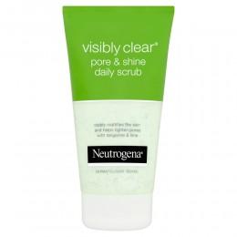 Neutrogena Visibly Clear Pore & Shine Peeling pro každodenní použití