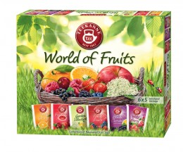 Teekanne World of fruits kolekce čajů