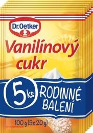 Dr.Oetker Vanilínový cukr 5x20g,