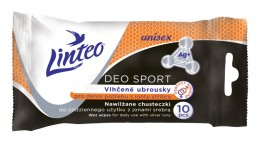 Linteo vlhčené ubrousky pro denní potřebu Deo sport 10ks