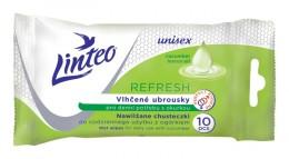 Linteo vlhčené ubrousky pro denní potřebu Refresh 10ks