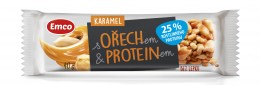 Emco Tyčinka ořech s Proteinem a karamelem