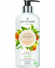 Attitude Super leaves přírodní mýdlo na ruce s detoxikačním účinkem - pomerančové listy