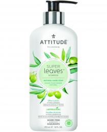 Attitude Super leaves přírodní mýdlo na ruce s detoxikačním účinkem - olivové listy