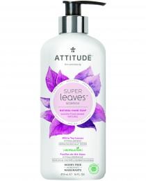 Attitude Super leaves přírodní mýdlo na ruce s detoxikačním účinkem - čajové listy