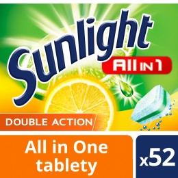 Sunlight All in 1 Citrus Tablety do myčky nádobí 48ks