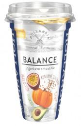 Hollandia Balance jogurtové smoothie avokádo, dýně, konopné semínko, maracuja