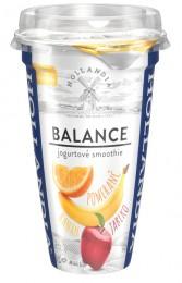 Hollandia Balance jogurtové smoothie banán, jablko, pomeranč