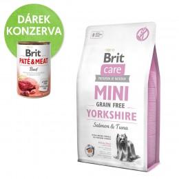 Brit Care Mini Grain Free Yorkshire granule pro psy