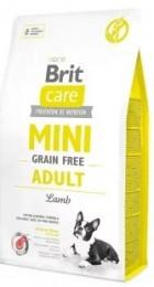 Brit Care Mini Grain Free Adult Lamb granule pro dospělé psy miniaturních plemen
