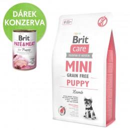 Brit Care Mini Grain Free Puppy granule pro štěňata miniaturních plemen