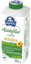 Mlékárna Kunín Acidofilní mléko meruňka