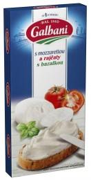 Galbani Tavený s Mozzarellou a sušenými rajčaty a bazalkou