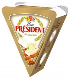 Président Brie s ořechy