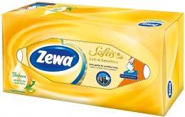 Zewa Softis Soft&Sensitive papírové kapesníky 4vrstvé box 80ks