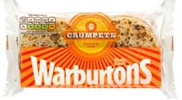 Warburtons Crumpets 6ks (mražené)