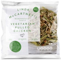 Linda McCartney Vegetariánské trhané kuřecí mražené