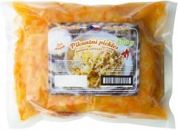 Pikantní pickles - kvašená zelenina s chilli, sáček