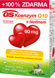 GS Koenzym Q10 60mg cps.30+30