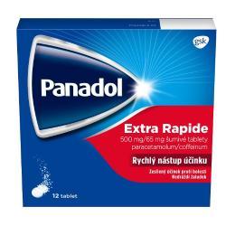 PANADOL EXTRA RAPIDE 500MG/65MG šumivá tableta 12 I