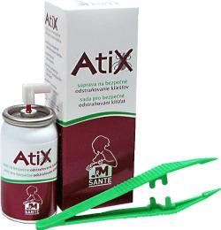 ATIX sada pro bezpečné odstraňování klíšťat