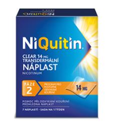 NIQUITIN CLEAR 14 MG 14MG/24H TDR EMP 7