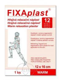 FIXAplast kapsaicin.hřejivá nápl.WARM 12x16cm 1ks