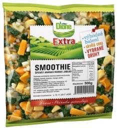 Dione Extra Smoothie - špenát, ananas, mango, jablko