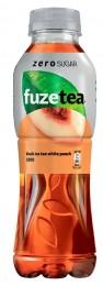 FuzeTea černý ledový čaj bílá broskev bez cukru