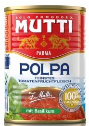 Mutti Drcená rajčata s bazalkou