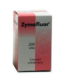 ZYMAFLUOR 0,25MG neobalené tablety 200