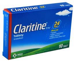 CLARITINE 10MG neobalené tablety 10