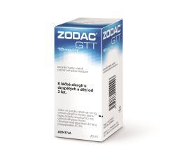 ZODAC GTT 10MG/ML POR GTT SOL 1X20ML I