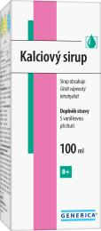 Kalciový sirup Generica 100 ml