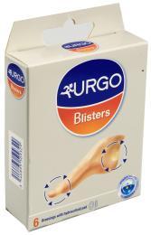 URGO BLISTERS Na puchýře hydrokoloidní náplast 6ks